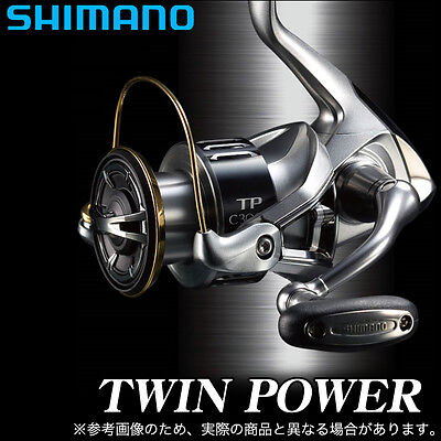 Shimano 15 TWIN POWER 3000-HGM Spinning Reel New from japan