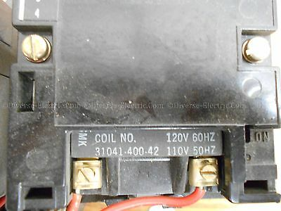 Square D Company Class 8736 Series A 2 110-120 Coil Reversing Contactor
