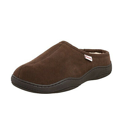 NWT Men/'s Saddlebred Micro Suede Clog Slippers with indoor outdoor sole S 7-8