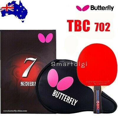 Butterfly TBC702 Table Tennis Ping Pong Racket Paddle Bat Blade Shakehand FL
