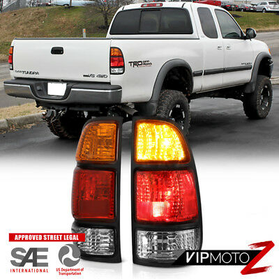 """2000-2004 Toyota Tundra """"FACTORY STYLE"""" Rear Brake Tail Lights Assembly +Wirings"""