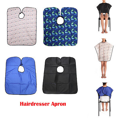 PRO Hair Salon Cutting Barber Hairdressing Cape Hairdresser Apron For Kids/Adult