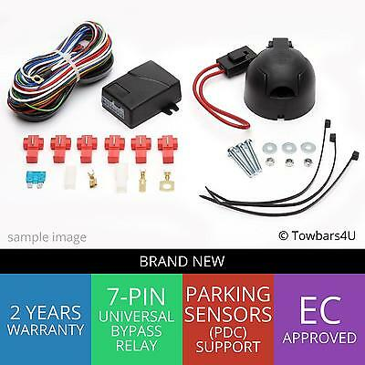 Brand New Towbar 7 Pin Bypass Relay Electrics Ford Transit Custom