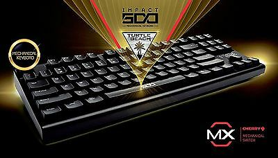 Turtle Beach Impact 500 Gaming Mechanical Keyboard Cherry MX Blue Switches - UK