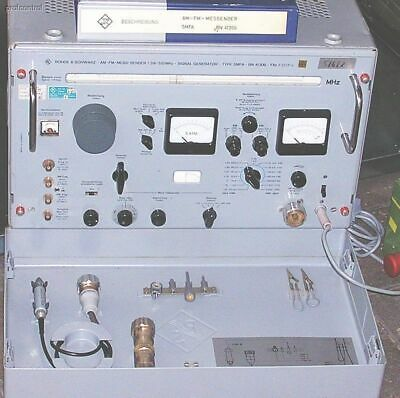 R&S SMFA HF-VHF-SHF Signal Generator 1.39-510 MHz AM FM Output level 0.03uV - 2V