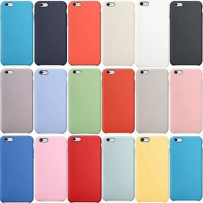 Funda Silicone Case para Apple iPhone 6s, 6 (No Original, Calidad A+, Carcasa)