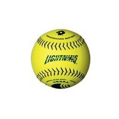DeMarini Lightning USSSA Women's Classis W Series Slowpitch Leather Softball (12