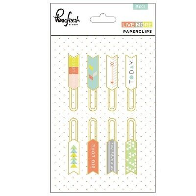 Pinkfresh Studio - Live More - Paper Clips