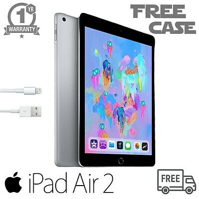 "Apple iPad Air 2 - 16GB, Wi-Fi - 9.7"" - 12 Months Warranty - A GRADE  (*)"