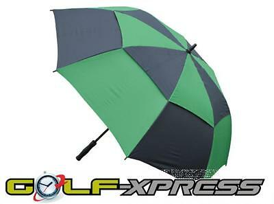 TourDri Gust Resistant Umbrella - Black/Green