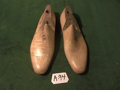 VINTAGE Original PAIR 8 E VULCAN CHAMP Shoe Factory Industrial Last Mold  #402