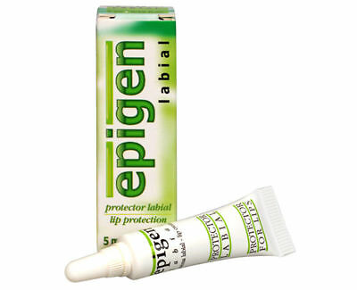 Epigen Lip Cream 5 gr 0.17oz Protect Against Papilloma Virus & Genital Herpes