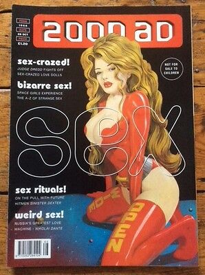 2000ad Prog 1066 - The Sex Issue Judge Dredd, Sinister Dexter, The Space Girls