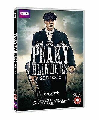 PEAKY BLINDERS series/season 3 region 2 DVDs box set new Fast Dispatc