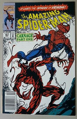 The Amazing Spider-man #361 1st App Of Carnage NM Marvel Comics