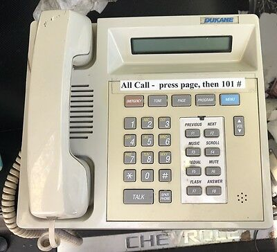 Dukane 7A1110 Administrative Telephone for a StarCall Intercom System