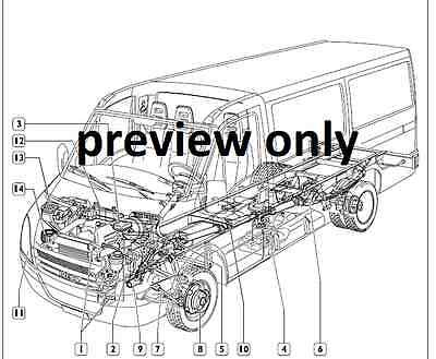 iveco daily 2006-2011 4th generation workshop service and repair manual cd