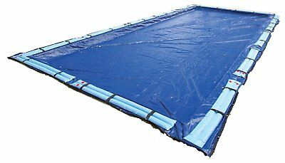 Winter Pool Cover Inground 25X45 Rectangle Arctic Armor 15Yr Warranty w/ Tubes