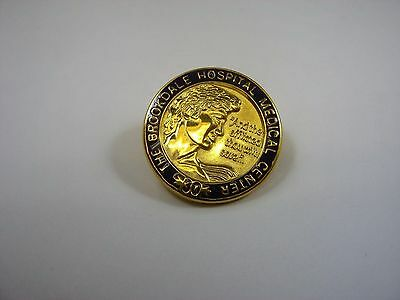 Vintage Collectible Pin: The Brookdale Hospital Medical Center 30 Years