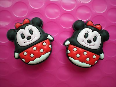 Clog Shoe Charms Fit Bands Holey Sandals Plug Charms 2 Minnie Mouse