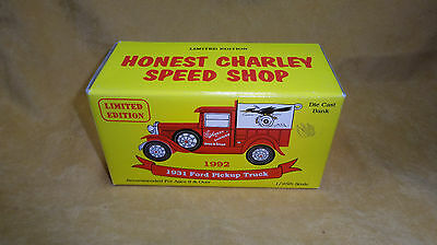 Eastwood Company 1931 Ford Pickup Truck Honest Charley Speed Shop Ltd Edition