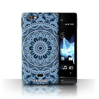 Case/Cover Sony Xperia Miro/ST23I / Mandala Art / Dream/Blue