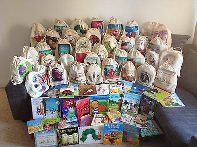 5 story sacks all traditional tales with accompanying teaching resource discs.