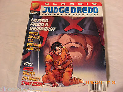Classic Judge Dredd Megazine #5 from 2000ad  December 1995  dinos-old-toy-shop