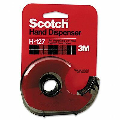 Scotch H-127 Handheld Tape Dispenser H127 Pack of 12