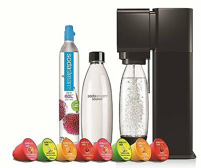 SodaStream Play Soda Caps Megapack, Black