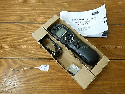 Pixel TC-252/N3 TIMER REMOTE CONTROL (CAMERA ACCESSORIES)