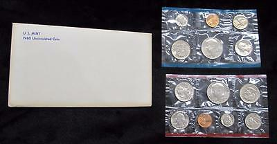 1980 Uncirculated Mint Set * 13 Coins * Great Gift Idea! * P & D Mint Marks