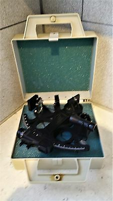 working USA ship navigation MARK 15 MK15 MK-15  DAVIS sextant nautical & case