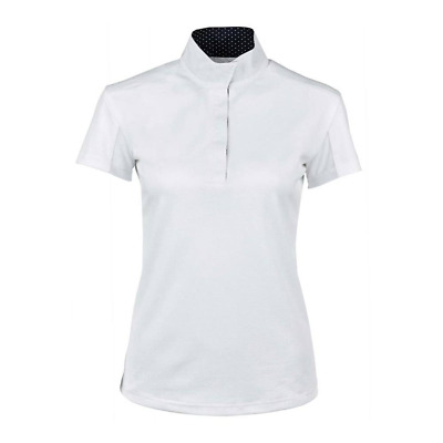 Dublin Airflow CDT Womens Short Sleeve Competition Top - White