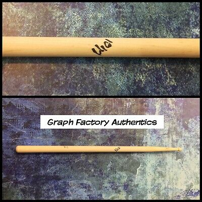 GFA Iron Maiden Drummer * NICKO McBRAIN * Signed Autographed Drumstick AD1 COA