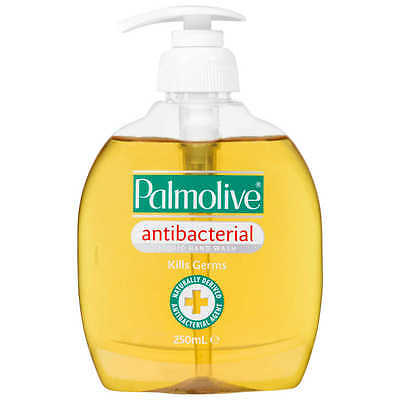 Palmolive Original Antibacterial Liquid Hand Wash 250Ml Kills Germs Natural Pump