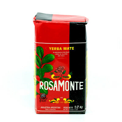 Rosamonte Traditional Yerba Mate Tea 500g - Produced in Argentina
