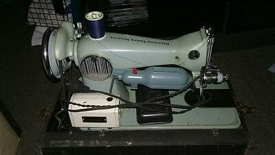 vintage early 1950s dressmaker sewing machine