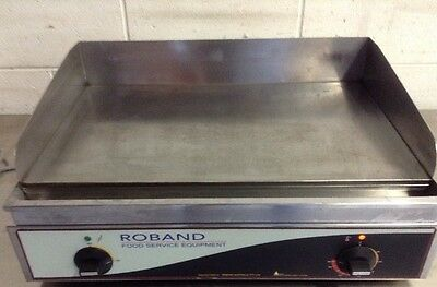 Commercial Cafe Restaurant ROBAND 520 mm HOT PLATE Flat Plate Grill 10 Amp