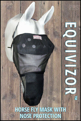 Equivizor UV Horse Fly Mask with Nose Protection