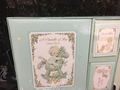 Vintage Baby Book First Year Album  Keepsake Memory Record Keeper New