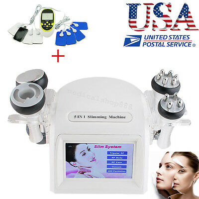 Cavitation Ultrasonic Radio Frequency Multipolar Vacuum Fat removal Body shaping