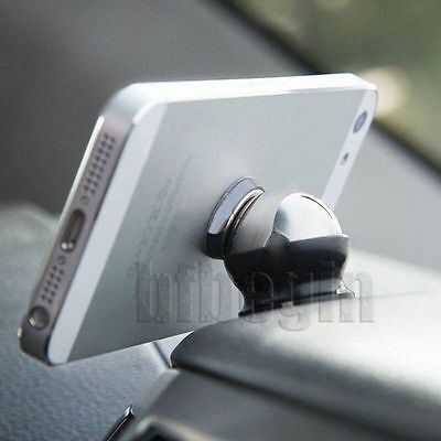 Universal Car Mount Holder 360°Magnetic Ball Dock For PDA Phone Tablet iPod GPS