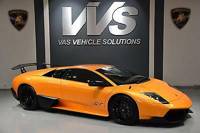 2010 Lamborghini MURCIELAGO LP 670-4 SV UK SUPPLIED Automatic Coupe