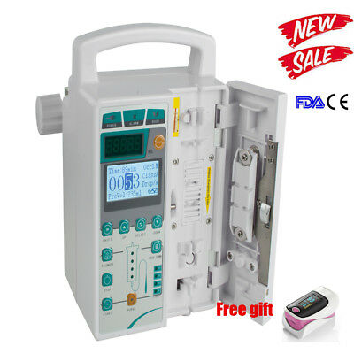 Medical Infusion Pump IV Fluid Injector  With Audible Alarm Human/VET/Animal CE