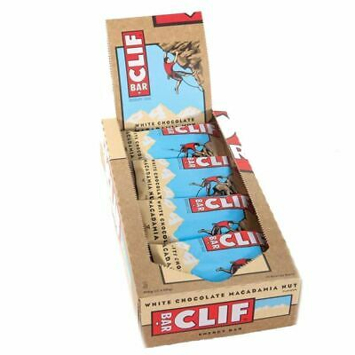 Clif | White Chocolate Macadamia Bar | 12 x 68g