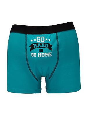 Ann Summers Mens Go Hard Or Go Home Boxer Trunks Shorts Novelty Underwear