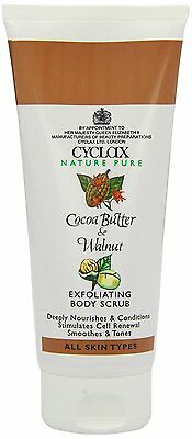 Cyclax Cocoa Butter & Walnut Exfoliating Body Scrub 200ml x 2