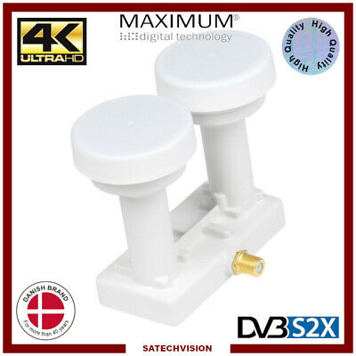 LNB Monoblock Single 6° Astra & Hotbird Opticum LMP-04H 0,1 dB Full HD 3D 4K