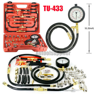 TU-443 Manometer Fuel Pressure Gauge Engine Testing Kit Fuel Injection Pump Test